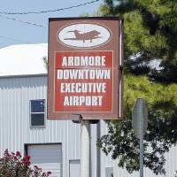 Photo - Ardmore Downtown Executive Airport is located 7 miles north of Lake Murray State Park Airport.  Photo by STEVE SISNEY,  THE OKLAHOMAN