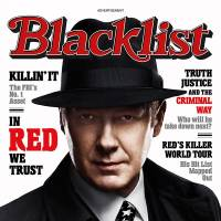 Photo - This advertisement released by NBC shows a mock magazine cover featuring James Spader in character as Raymond Reddington from the NBC series