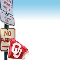 Photo - GRAPHIC / UNIVERSITY OF OKLAHOMA / PARKING / COLLEGE FOOTBALL: Park where? OU gives game day crowd free rides from distant lot  ILLUSTRATION BY CHRIS SCHOELEN, THE OKLAHOMAN