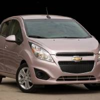 Photo - This undated image provided by Chevrolet shows the 2013 Chevrolet Spark. (AP Photo/Chevrolet)