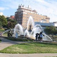 Photo -  A large fountain in Country Club Plaza