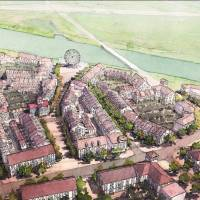 Photo -  The proposed Wheeler neighborhood at Western Avenue and the Oklahoma River.    Dover-Kohl