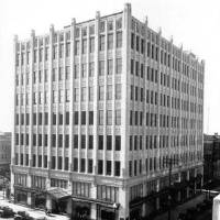 Photo - Architect Frank C. Walter designed the Halliburton-Abbott Building, built in 1929 at the corner of Fifth and Boulder in Tulsa. This building was torn down in 1980. PHOTOs PROVIDED BY TULSA FOUNDATION FOR ARCHITECTURE
