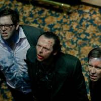 Photo - From left, Nick Frost as Andy, Simon Pegg as Gary and Paddy Considine as Steven in Edgar Wright?s new comedy