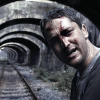 "Photo - MOVIE: Gerard Butler as One Two in the action film ""RocknRolla."" ORG XMIT: 0809041603473246"