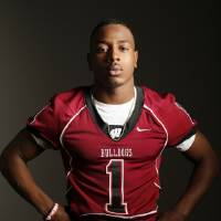 Photo -  All-State football player poses for a photo in Oklahoma City Monday, Dec. 17, 2012. Photo by Nate Billings, The Oklahoman