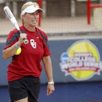 Photo - UNIVERSITY OF OKLAHOMA / COLLEGE SOFTBALL:  OU head coach Patty Gasso on Wednesday, June 1, 2011, prior to the first day of the Women's College World Series at ASA Hall of Fame Stadium in Oklahoma City. Photo by Bryan Terry, The Oklahoman