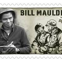 Photo - CARTOONIST, POSTAGE STAMP: This stamp honoring Bill Mauldin will be on sale in March.  Provided by U.S. Postal Service ORG XMIT: 1001181544108890