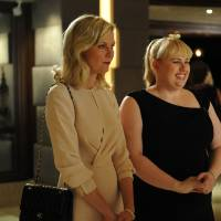 Photo -   This image released by Radius/The Weinstein Company shows Kirsten Dunst, left, and Rebel Wilson in a scene from