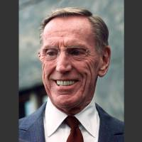 Photo - FILE - In this April 6, 1999, file photo, former Lincoln Savings & Loan chief Charles Keating Jr. smiles during a news conference at the Los Angeles Federal Courthouse. Keating, the financier who was disgraced for his role in the costliest savings and loan failure of the 1980s, has died. He was 90. A person with direct knowledge of the death confirmed that Keating died but didn't provide further details. The person wasn't authorized to release the information and spoke on condition of anonymity. (AP Photo/Nick Ut, File)