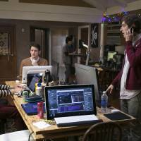 Photo - This photo released by HBO shows, from left, Kumail Nanjiani, Zach Woods, and Thomas Middleditch, in a scene from the television series,