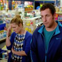 "Photo -  Drew Barrymore, left, and Adam Sandler star in ""Blended."" Photo courtesy of Warner Bros. Pictures    Courtesy of Warner Bros. Pictures"