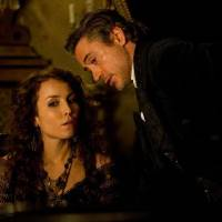 """Photo - Noomi Rapace and Robert Downey Jr. star in """"Sherlock Holmes: A Game of Shadows."""