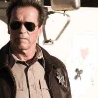 Photo - FILE - This publicity film image released by Lionsgate shows Arnold Schwarzenegger in a scene from,