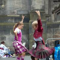 Photo -  Highland dancing is a popular activity at festivals in towns big and small throughout Scotland. (Dominic Bonuccelli/Rick Steves' Europe)