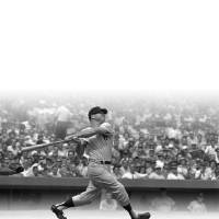 Photo - FORMER OKLAHOMAN / MAJOR LEAGUE BASEBALL: Mickey Mantle of the New York Yankees at bat.		ORG XMIT: 0809271941151382
