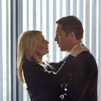 "Photo -  Claire Danes as Carrie Mathison and Damian Lewis as Nicholas ""Nick"" Brody in Homeland (Season 2, Episode 12). - Photo:  Kent Smith/SHOWTIME - Photo ID:  Homeland_212_1109"