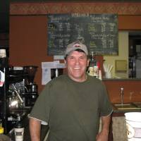 Photo - Tim Sisson, owner of The Buzz coffee shop, downtown Oklahoma City  ORG XMIT: 0808192035075794