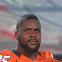 Photo - Chris Donaldson, OSU, Oklahoma State University football player.   ORG XMIT: 0809142123462308