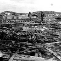 Photo - Damage of the May 10, 1905, Snyder tornado is shown.  OKLAHOMAN ARCHIVE PHOTO  THE OKLAHOMAN ARCHIVE