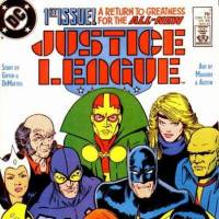Photo -  Justice League 1, drawn by Kevin Maguire
