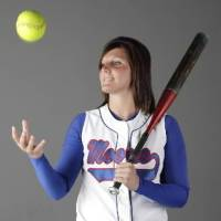 Photo -  Leslie  Martini, Moore H.S., All-City Softball Player of the Year, Friday, May 29, 2009. Photo by Doug Hoke