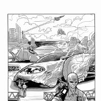 """Photo - John Nadir in a page from """"Nadir's Zenith."""" """"Nadir's Zenith"""" is written by Jackson Compton and drawn by Jerry Bennett. IMAGE provided"""