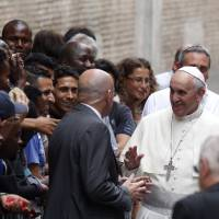 Pope wants convents used to house refugees