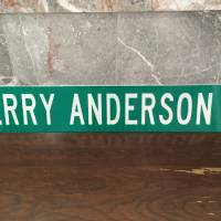 Photo -  The street sign for Jerry Anderson Drive in Murfreesboro, Tenn.