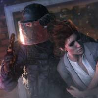 """Photo - This photo provided by Ubisoft shows a scene from the video game, """"Tom Clancy's Rainbow Six: Siege."""