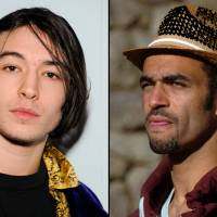 Photo -   FILE - This combination of undated file photos shows Ezra Miller, left, who stars in the recently released film