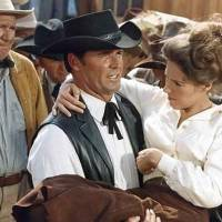 """Photo -  Oklahoma native James Garner and Joan Hackett appear in """"Support Your Local Sheriff!"""" Photo provided"""