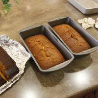 Photo - Pumpkin bread loafs created by residents of Touchmark at Coffee Creek's memory care unit. Photo by JIM BECKEL, THE OKLAHOMAN