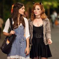 Photo - This film image released by Paramount Pictures shows Victoria Justice as Wren, left, and Jane Levy as April in a scene from