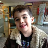Photo - This Nov. 13, 2012 photo provided by the family via The Washington Post shows Noah Pozner. The six-year-old was one of the victims in the Sandy Hook elementary school shooting in Newtown, Conn. on Dec. 14, 2012. (AP Photo/Family Photo)