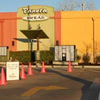 Photo - Panera Bread, 2200 W Main St. in Norman, with the new drive-thru is shown. PHOTO PROVIDED