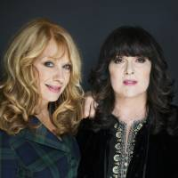 Photo - FILE - This Oct. 1, 2012 file photo shows sisters Ann, left, and Nancy Wilson from Heart in New York. The eclectic group of rockers Rush and Heart, rappers Public Enemy, songwriter Randy Newman,