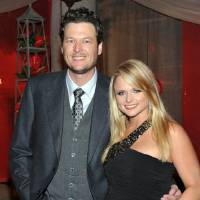 Photo - In this Nov. 9, 2010 file photo, Oklahoma country music stars Blake Shelton, left, and Miranda Lambert arrive at the 2010 BMI Country Awards in Nashville, Tenn. (AP Photo/Evan Agostini, file)  Evan Agostini - AP