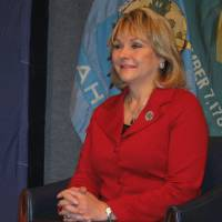 Photo - Gov. Mary Fallin The governor will reveal details of her health plan in her State of the State speech Monday.