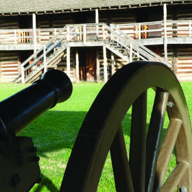 Fort Gibson Historic District in Muskogee County was established in 1824 as Fort Gibson under the command of Gen. Matthew Arbuckle. [Photo provided]