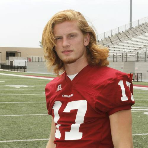 John Cole Neph, Super 30 player for Owasso High School in Owasso, OK, Monday, June 25, 2013, Photo by Paul Hellstern, The Oklahoman