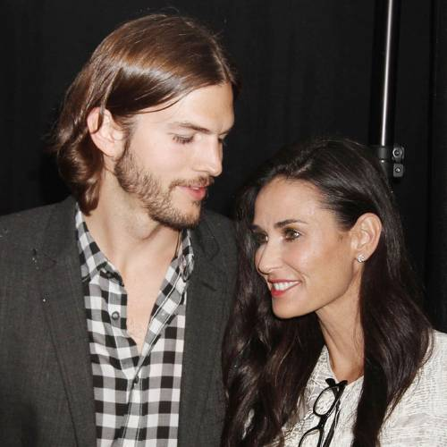 Nov. 17, 2011 - DEMI MOORE is ending her marriage to fellow actor ASHTON KUTCHER. Moore, 49, and Kutcher, 33, were wed in September 2005, but the couple's relationship became tabloid fodder in recent months as rumors swirled about Kutcher's alleged infidelity. PICTURED:June 9, 2011 - New York, New York, U.S. - Actors Ashton Kutcher and Demi Moore attend the Urban Zen Stephan Weiss Apple Awards held at the Urban Zen Center at the Stephan Weiss Studio. (Credit Image: © Nancy Kaszerman/ZUMAPRESS.com)