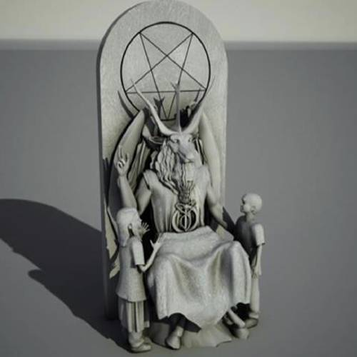Photo via OKC FOX / The Satanic Temple