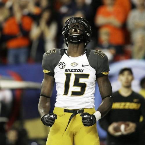 Dorial Green-Beckham was announced as the latest member of the Oklahoma Sooners on Thursday. (AP Photo/John Bazemore, File)