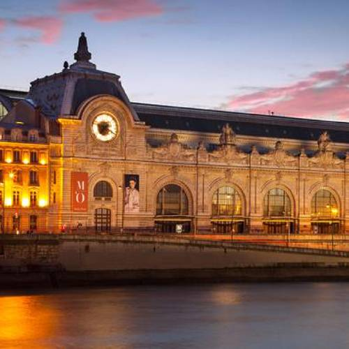 The Musee d'Orsay Photo: ALAMY