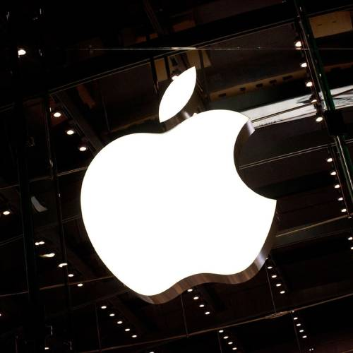 FILE - MAY 28, 2014: It was reported that Apple Inc. will buy headphone-maker Beats Electronics for approximately $3 billion May 28, 2014. NEW YORK, NY - OCTOBER 05: The Apple logo is seen hanging inside the Apple store on West 66th Street on October 5, 2011 in New York City. Jobs, 56, passed away October 5, 2011 after a long battle with pancreatic cancer. Jobs co-founded Apple in 1976 and is credited, along with Steve Wozniak, with marketing the world's first personal computer in addition to the popular iPod, iPhone and iPad. (Photo by Andrew Burton/Getty Images) ** OUTS - ELSENT, FPG - OUTS * NM, PH, VA if sourced by CT, LA or MoD **