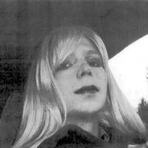 This undated file photo provided by the U.S. Army shows Pvt. Chelsea Manning, who was previously known as Bradley Manning, wearing a wig and lipstick. Manning grew up in Oklahoma. AP file photo