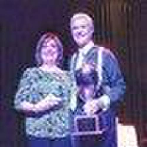 Ken and Lauren English were selected to with the Crowd Pleaser and Over-All awards during the Dancing with the Stars of Durant competition recently. (Durant Daily Democrat photo)