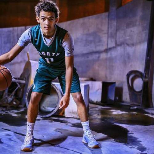 Oklahoman Super 5 and All-City player Norman North\'s Trae Young shot at OPUBCO in Oklahoma City,...