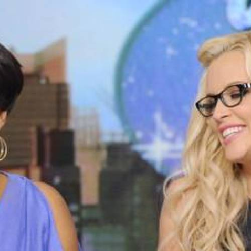 "THE VIEW - (4.29.13) On today's show, guest co-host Jenny McCarthy joins the ladies; ?Whoopi?s Shoe View? begins with a peek at her one-of-a-kind shoe collection; Rebel Wilson (?Pain & Gain?) appears; Sherri Shepherd shares her guide to losing weight and beating diabetes with her new book, Plan D; and musical guest Fantasia performs. ""The View"" airs Monday-Friday (11:00 am-12:00 pm, ET) on the ABC Television Network. (Photo by Donna Svennevik/ABC via Getty Images) WHOOPI GOLDBERG, SHERRI SHEPHERD, JENNY MCCARTHY, ELISABETH HASSELBECK"